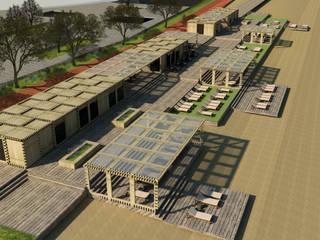 IKLIMA SENOL ARCHITECTURAL- INTERIOR DESIGN & CONSTRUCTION – ANTALYA KONYAALTI SAHİL DÜZENLEME:  tarz