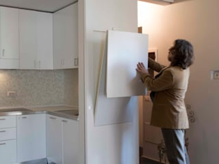 Rental house: Cucina attrezzata in stile  di officinaleonardo, Minimalista