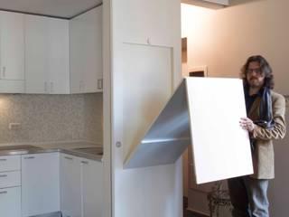 Rental house: Cucina attrezzata in stile  di officinaleonardo, Moderno