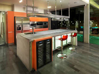 MJ Kanny Architect Modern kitchen
