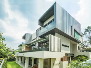 Country Heights Damansara - Contemporary Family House MJ Kanny Architect Modern houses