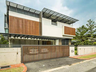 Country Heights Damansara - Contemporary Family House Modern houses by MJ Kanny Architect Modern