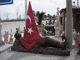 by ZORLU PARK BAHÇE HEYKELLERİ