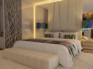 Uma proposta elegante e sofisticada: Hotéis  por Casactiva Interiores