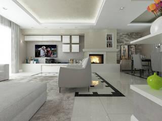 Salas de estilo moderno por De Vivo Home Design