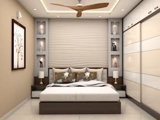 ARK Architects & Interior Designers Modern style bedroom
