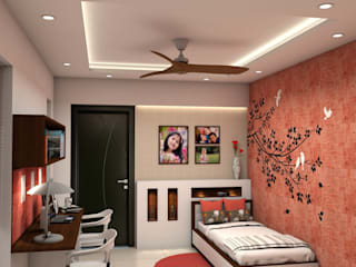 Girls Bedroom by ARK Architects & Interior Designers