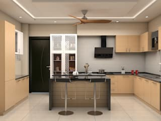 ARK Architects & Interior Designers Modern kitchen
