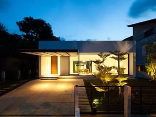 Garten Parkett Moderner Balkon, Veranda & Terrasse von Ecologic City Garden - Paul Marie Creation Modern
