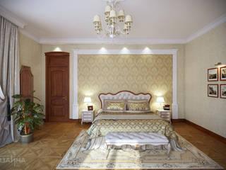 Спальня в классическом стиле: Спальни в . Автор – Технологии дизайна, Классический