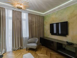 Гостиная:  в . Автор – Архитектурное бюро FACE-HOME