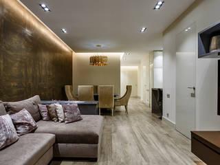 Семейная квартира в современном стиле от Архитектурное бюро FACE-HOME