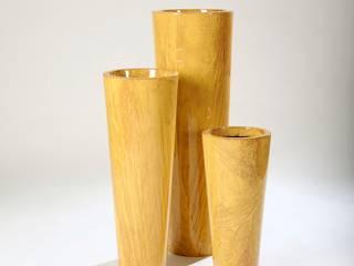 """Maceta de fibra de vidrio modelo """"Parma"""" de FIBERIDEE Moderno"""