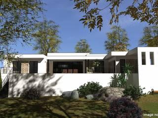 Conception et demande de permis de construire: Maisons de style  par Atoutplans Architecture