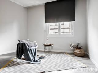 jaione elizalde estilismo inmobiliario - home staging Scandinavian style bedroom
