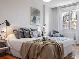 jaione elizalde estilismo inmobiliario - home staging Modern style bedroom