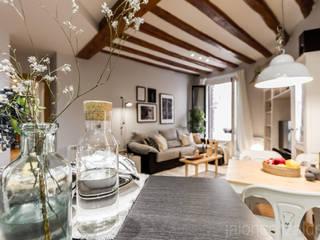 jaione elizalde estilismo inmobiliario - home staging Scandinavian style living room