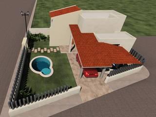 Piscines privées de style  par SG Huerta Arquitecto Cancun , Méditerranéen