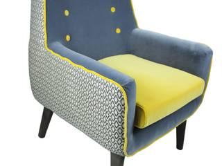 Mut zur Farbe - der Sessel macht´s vor.:   von Signature Home Collection GmbH