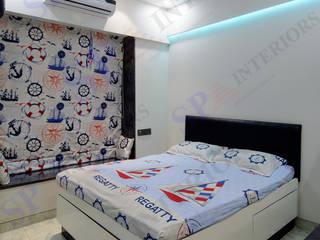 Bhadresh Jhaveri Moderne Schlafzimmer von SP INTERIORS Modern