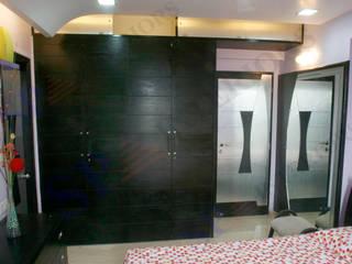 dr Rahul hegde Moderne Ankleidezimmer von SP INTERIORS Modern