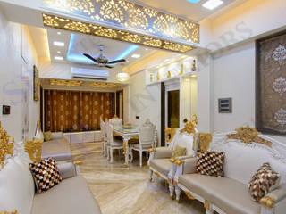 Mr.Ghandi Moderne Wohnzimmer von SP INTERIORS Modern