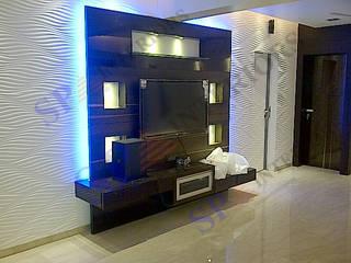 Vibha Hegde Moderne Wände & Böden von SP INTERIORS Modern