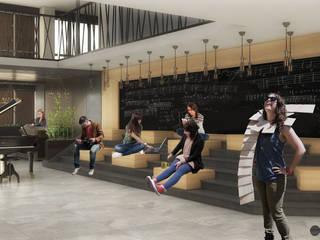 Is ve Yasam Merkezi Mimari Projesi Pil Tasarım Mimarlik + Peyzaj Mimarligi + Ic Mimarlik