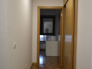 Quarto 1 e acesso à sala (DEPOIS):   por Melom Criações