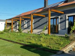 Recuperação de Moradia: Casas de campo  por Marta Zita Peixoto - Arquitectura,Rústico