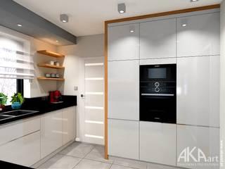 Dom w Kartuzach: styl , w kategorii Kuchnia na wymiar zaprojektowany przez AKAart Pracownia Projektowa,