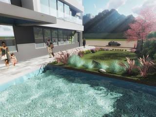 Apartman Peyzaj Mimarisi Pil Tasarım Mimarlik + Peyzaj Mimarligi + Ic Mimarlik