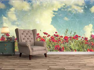 地中海スタイル 壁&床 の Dijivol Duvar Kağıtları 地中海