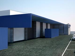 PE. Projectos de Engenharia, LDa Industrial style office buildings