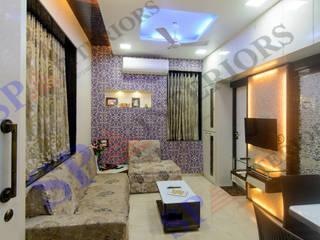Ritesh bhai Moderne Wohnzimmer von SP INTERIORS Modern