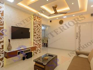 Rikin bhai Moderne Wohnzimmer von SP INTERIORS Modern