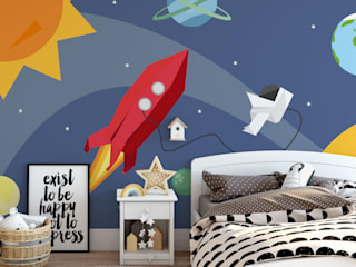 Folded Adventure Kid's Murals:   by Pop Walls