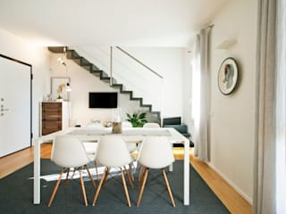 Modern dining room by Chantal Forzatti architetto Modern