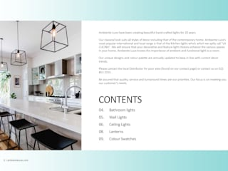 Contemporary Catalogue:   by Ambiente Luce