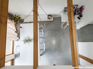 Ruang Keluarga Modern Oleh Bautech Sp. Z O.O. Modern Beton