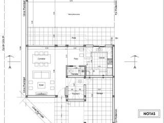 Obra H.C.: Casas unifamiliares de estilo  por I.S. ARQUITECTURA