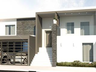 Ampliación , Monterrey , Nuevo león : Casas de estilo  por Arch DB - Arquitectos