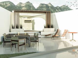 Altica 2 , Nuevo León: Casas de estilo  por Arch DB - Arquitectos