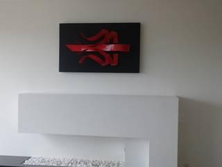"Escultura de Pared ""HAKA"":  de estilo  por Galeria Expreso del Arte GEA"