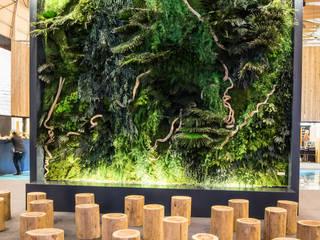 Greenarea recria paisagem dos Açores na BTL 2018 Centros de Congressos campestres por Traços Interiores Campestre