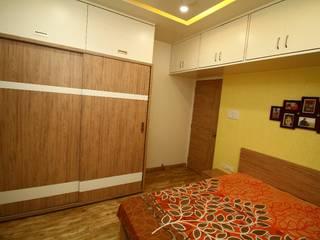 Project:  Bedroom by The D'zine Studio,Modern