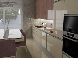 Espaço de confraternização...: Cozinhas embutidas  por Casactiva Interiores