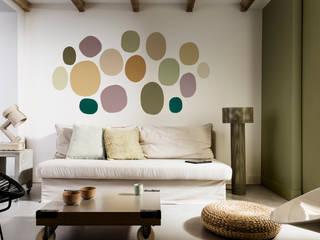 2018: The Playful Home Dulux UK Moderne Wohnzimmer Grün