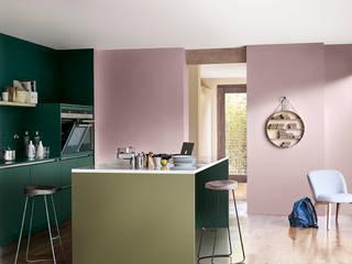2018: The Playful Home Dulux UK Moderne Küchen Grün