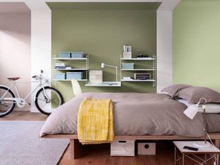 The Playful Bedroom Dulux UK Camera da letto moderna Verde